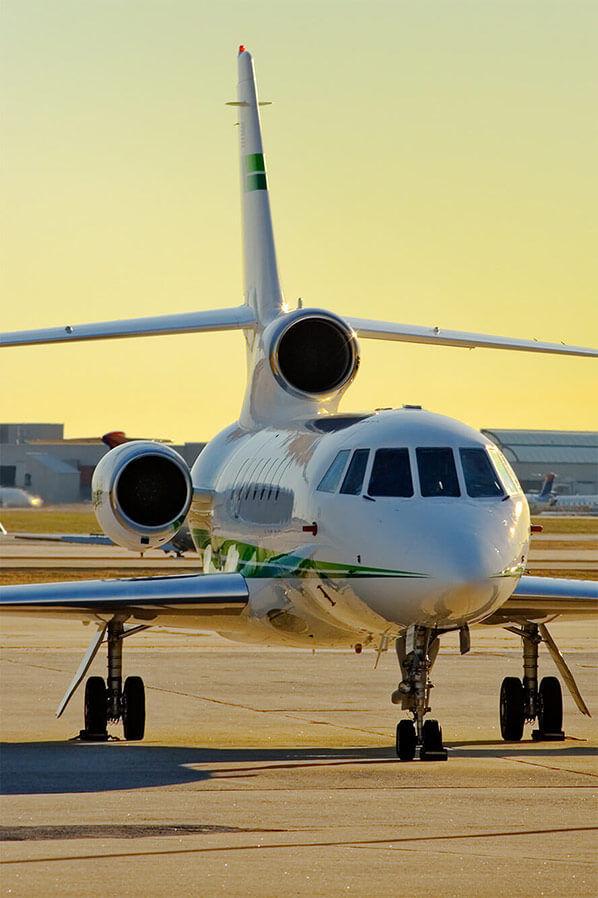 Aircraft sundowner