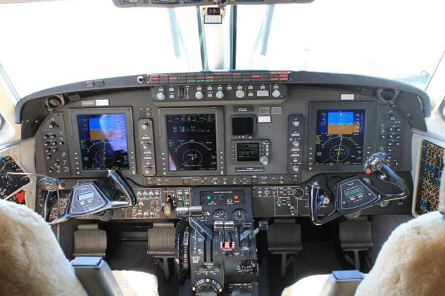 Beechcraft King Air C90GTi Cockpit