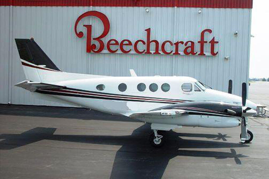Beechcraft King Air C90GTi Outside