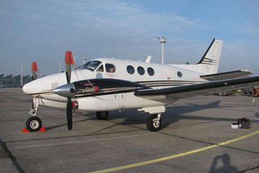 Beechcraft King Air C90GTx Outside