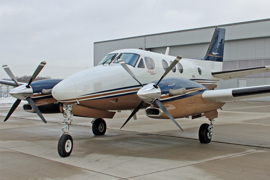 Beechcraft KingAir C90GT Outside