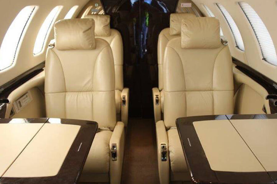 Cessna Citationjet 3 inside