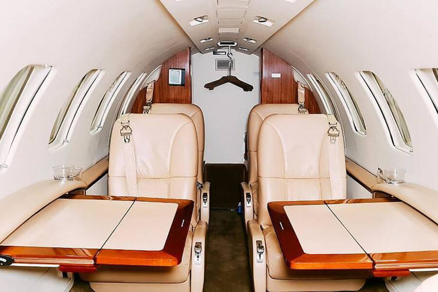 Cessna Citationjet CJ2+ inside