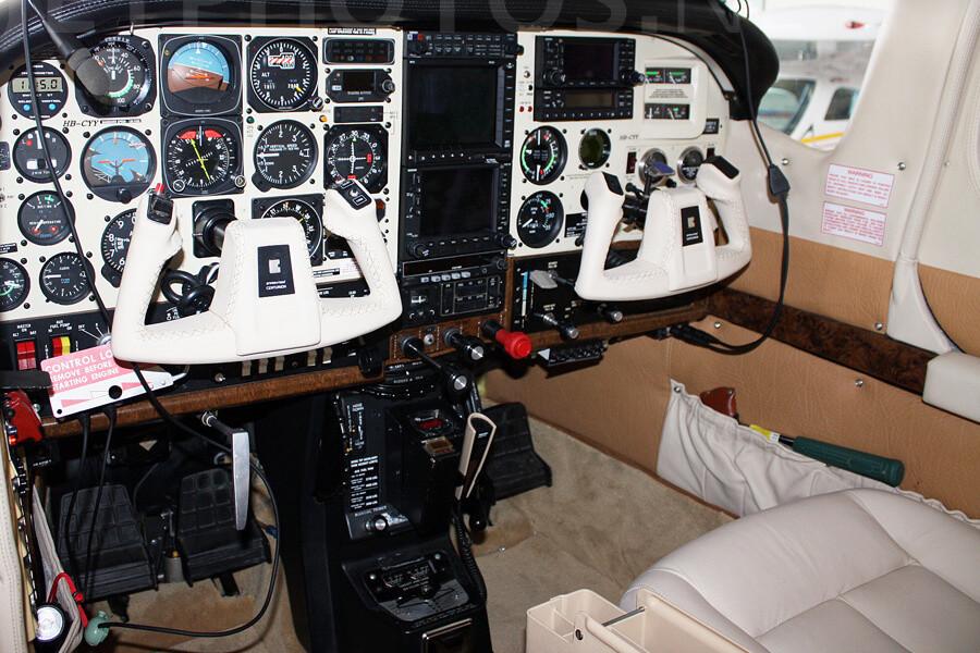 Cessna P210 Cockpit