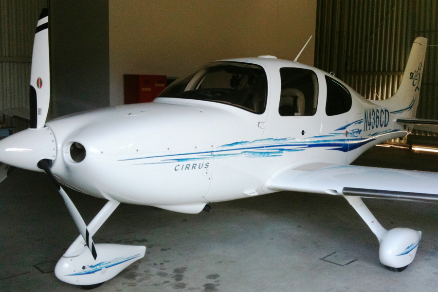 Cirrus SR22 G2 GTS outside