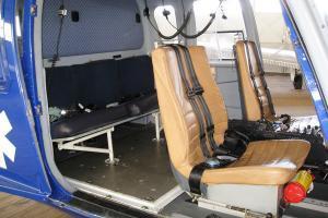 Eurocopter BO-105-CBS4 Inside