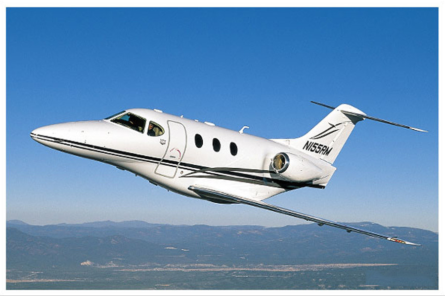 Hawker Beechcraft Premier 1A Outside