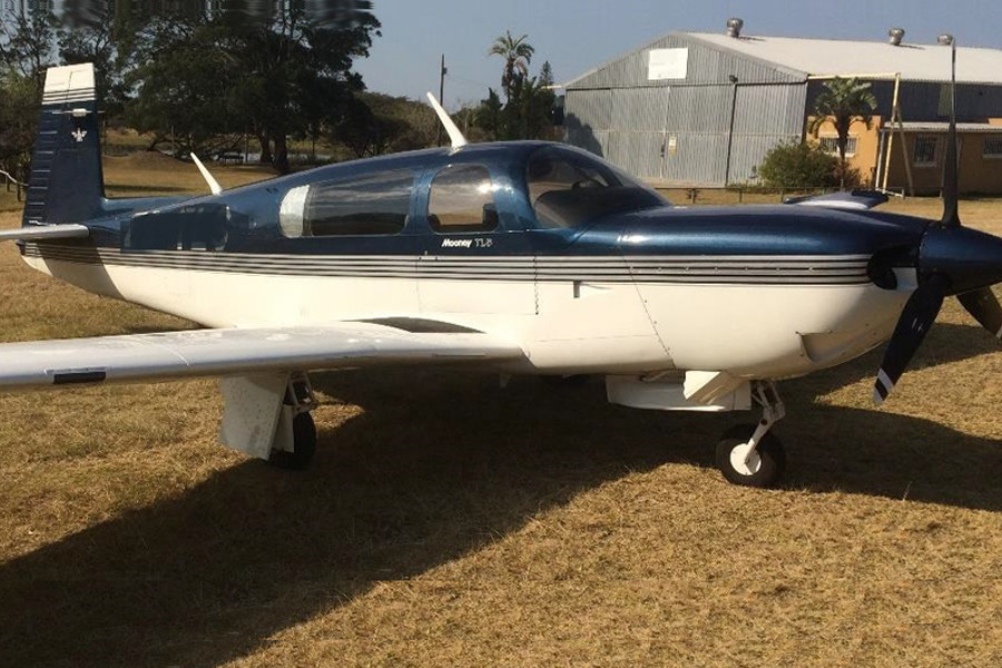 Mooney TLS Bravo Turbo outside