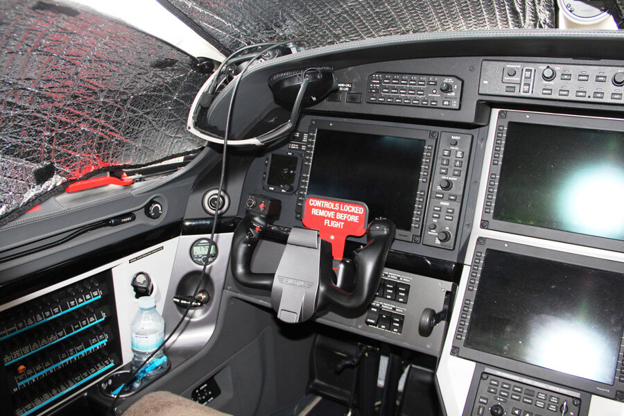 Pilatus PC12-47NG Cockpit