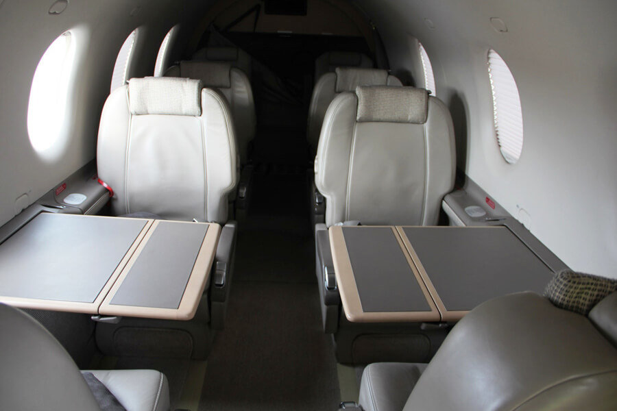 Pilatus PC12-47NG inside