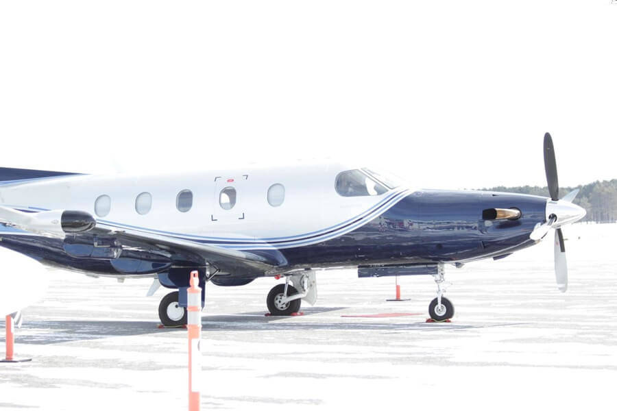 Pilatus PC12 NG outside