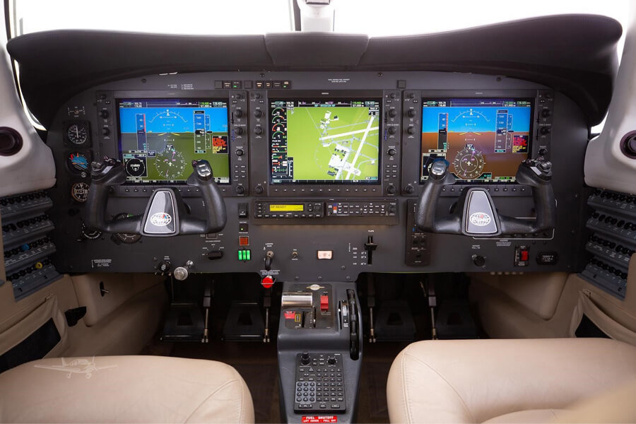 Piper Meridian Cockpit