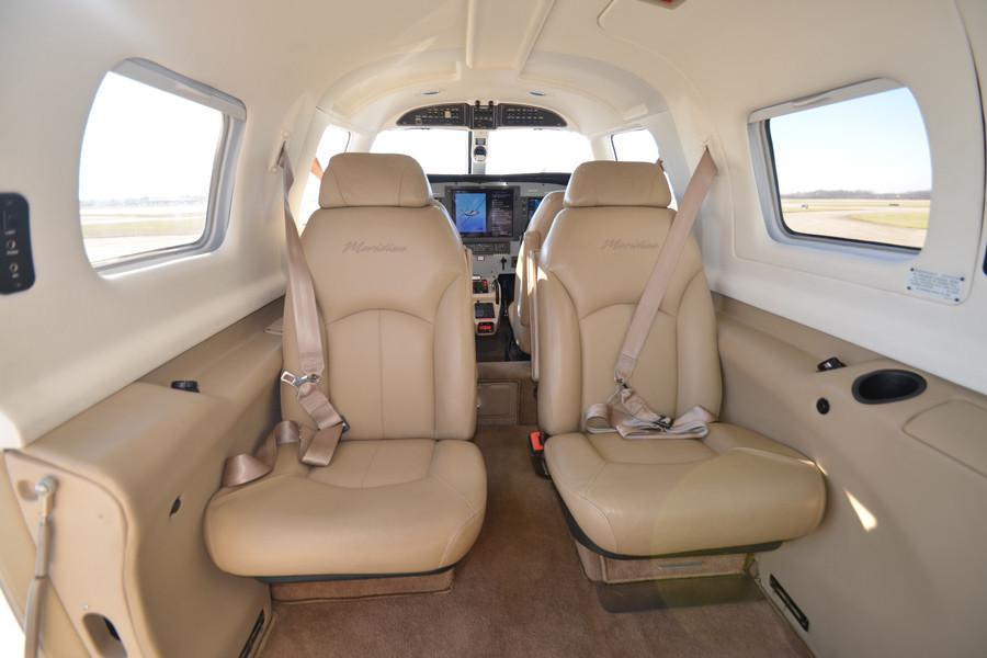 Piper Meridian G1000 Inside